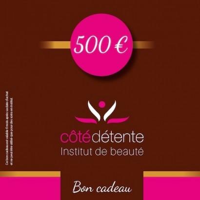 Bon cadeau 500 €